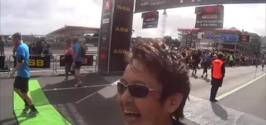 厳しかったな~ - オークランドマラソン2014